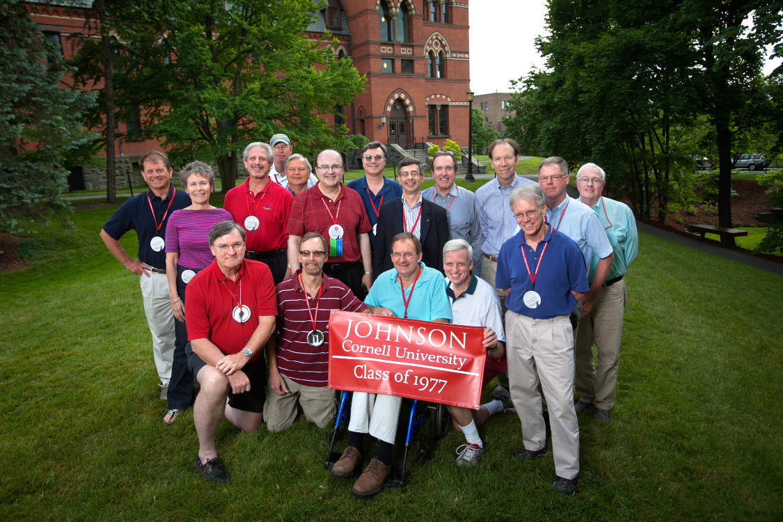 1977 Johnson Alumni Reception at 35th Reunion